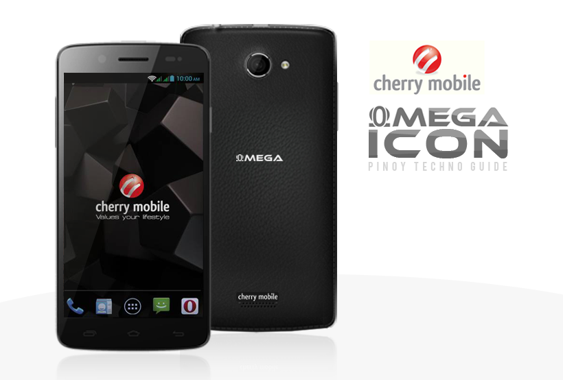 Cherry Mobile Omega Icon with Pleather Back Cover and Front Camera ...: www.pinoytechnoguide.com/2014/05/cherry-mobile-omega-icon.html