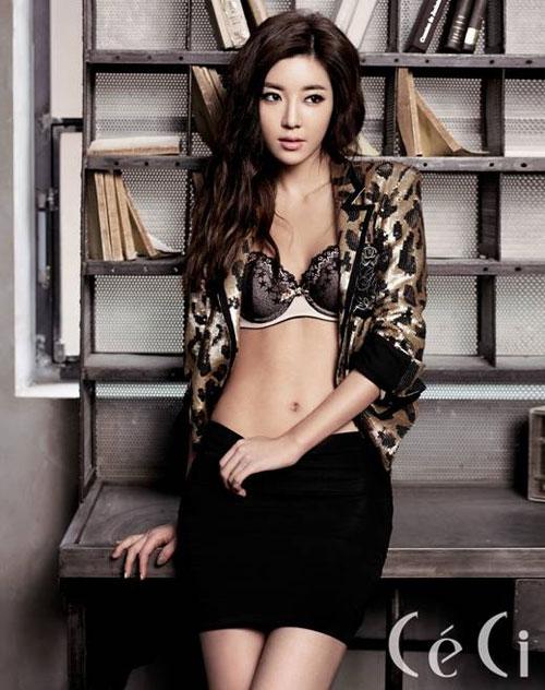 "Park Han Byul สุดเร้าร้อนในนิตยสาร ""CeCi"""