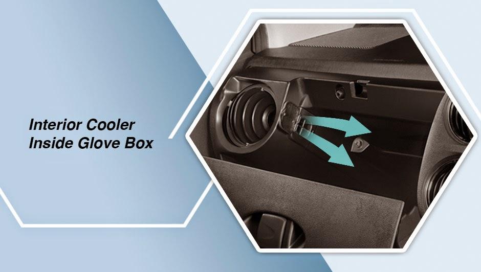 Interior Cooler Inside Glove Box  etios valco