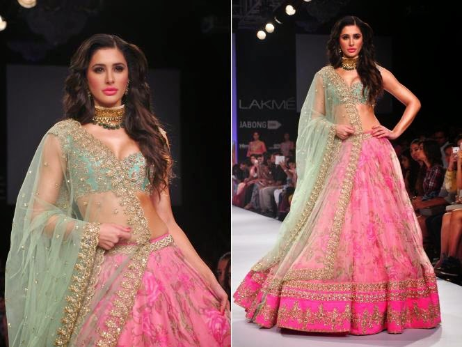 Nargis Fakhri in lakme fashion week 2014