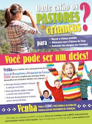 CEDIC - o curso completo para você que deseja realizar um ministério frutífero com as crianças.
