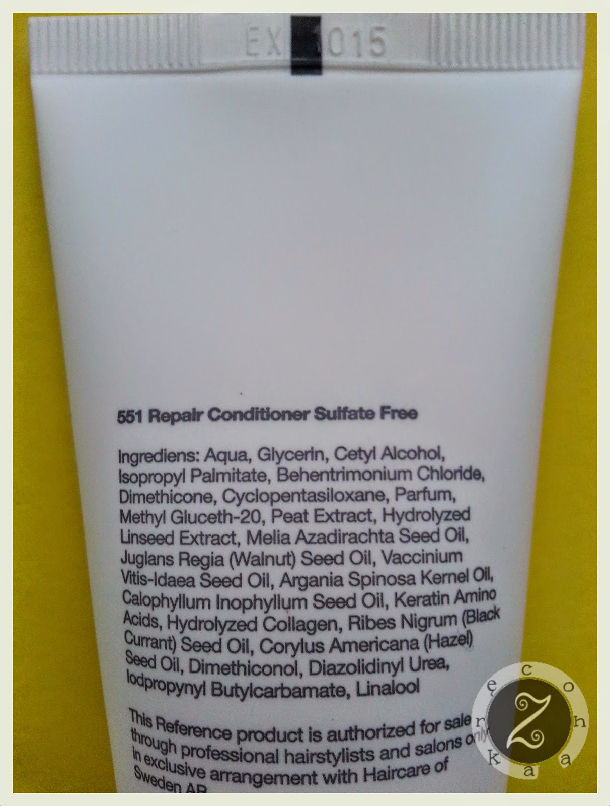 odżywka z ekstraktami i olejami