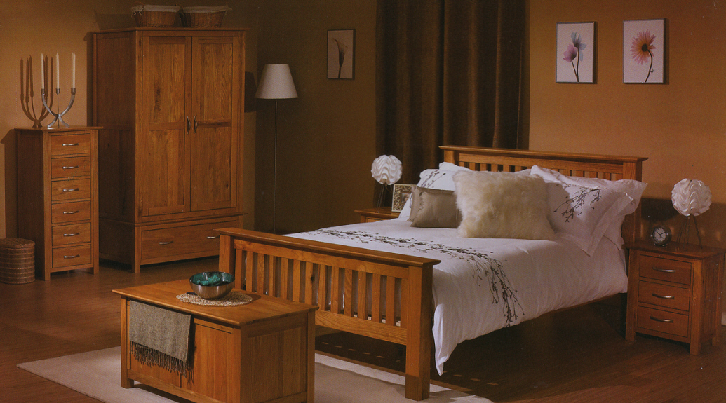 Oak bedroom furniture furniture for Bedding room furniture