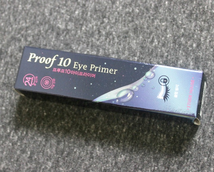 Etude House Proof 10 Eye Primer box ingredients