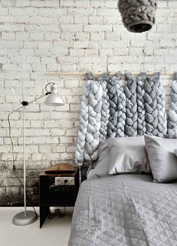 Braided headboard by taftyli on European Beautiful