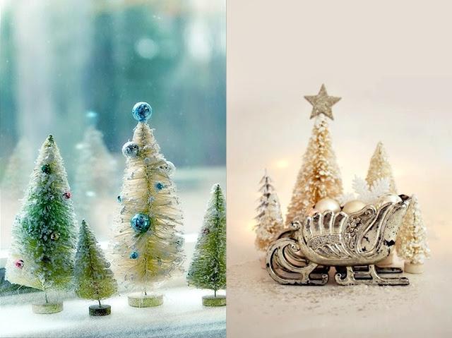 Christmas Tree Storage Bottle Brush