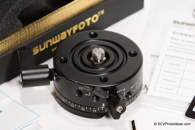 Sunwayfoto DDP-64SX Panoramic Indexing Rotator overview