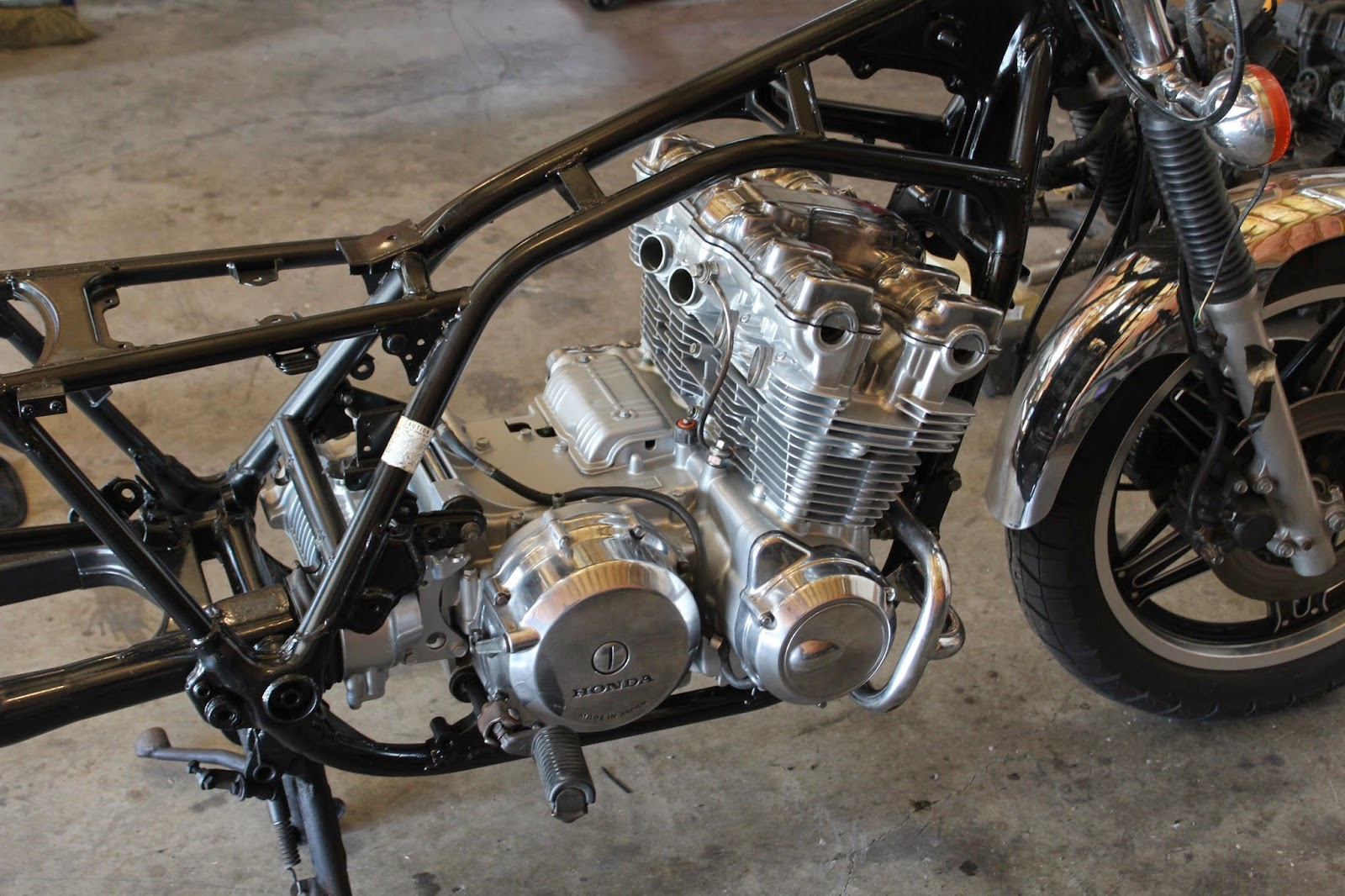 The CB900 is finished and