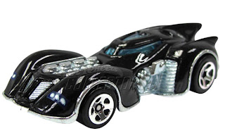 Arkham Asylum Batmobile from Hot Wheels