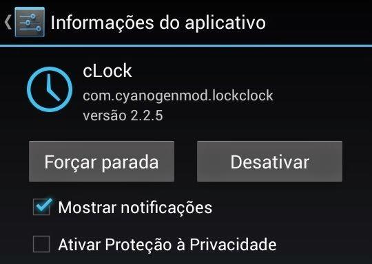 Desativando app pré-instalado no Android