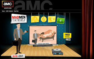 Create your own character of the AMC series MAD MEN