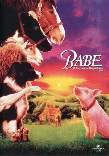 Babe: O Porquinho Atrapalhado Torrent – BluRay 720p/1080p Dual Áudio