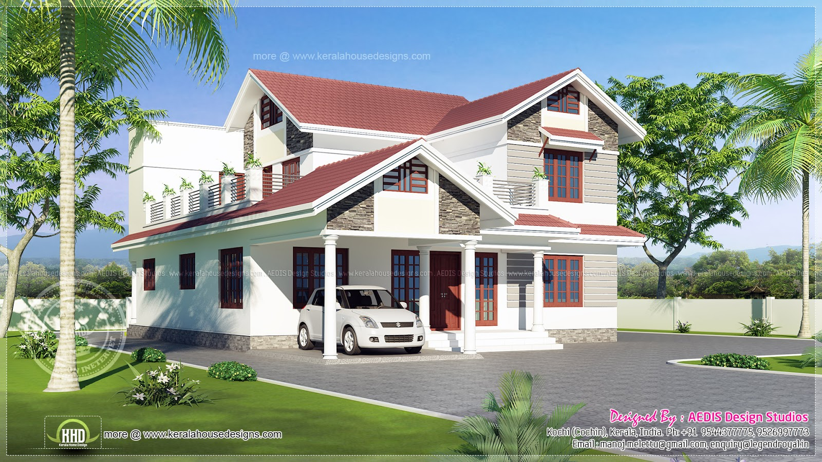 27 Perfect Images Sloping Roof House Designs Home