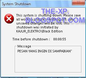 Cara Membuat Shutdown Komputer Otomatis Tanpa Software
