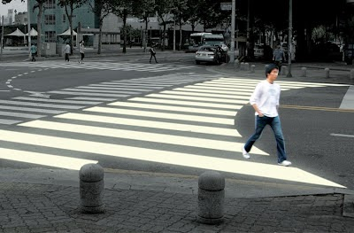 Curving Ego Crosswalk
