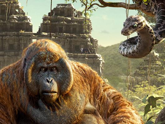 Primer póster del conjunto que formarán un tríptico de ' El Libro de la Selva (The Jungle Book)'