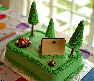 Cake Decorating Ideas Outdoors : 50 Easy Birthday Cake Ideas   Six Sisters  Stuff