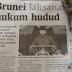 #PRKSgLimau - @ustazfathulbari Komen Brunei Laksana Hudud
