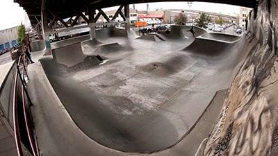 burnside skatepark ©