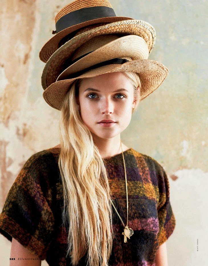Gabriella wilde by matt jones magazine photoshoot for elle for Elle italia