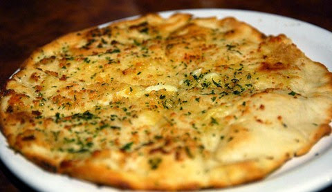 Cheesy Foccacia bread with garlic