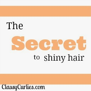 Secret to shiny hair