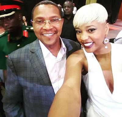 Feza Kessy With President Jakaya Mrisho Kikwete