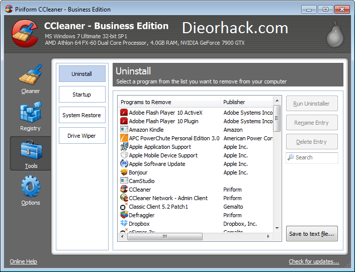 CCleaner Business v3.20 (Portable) [Pre ACTIVATED]