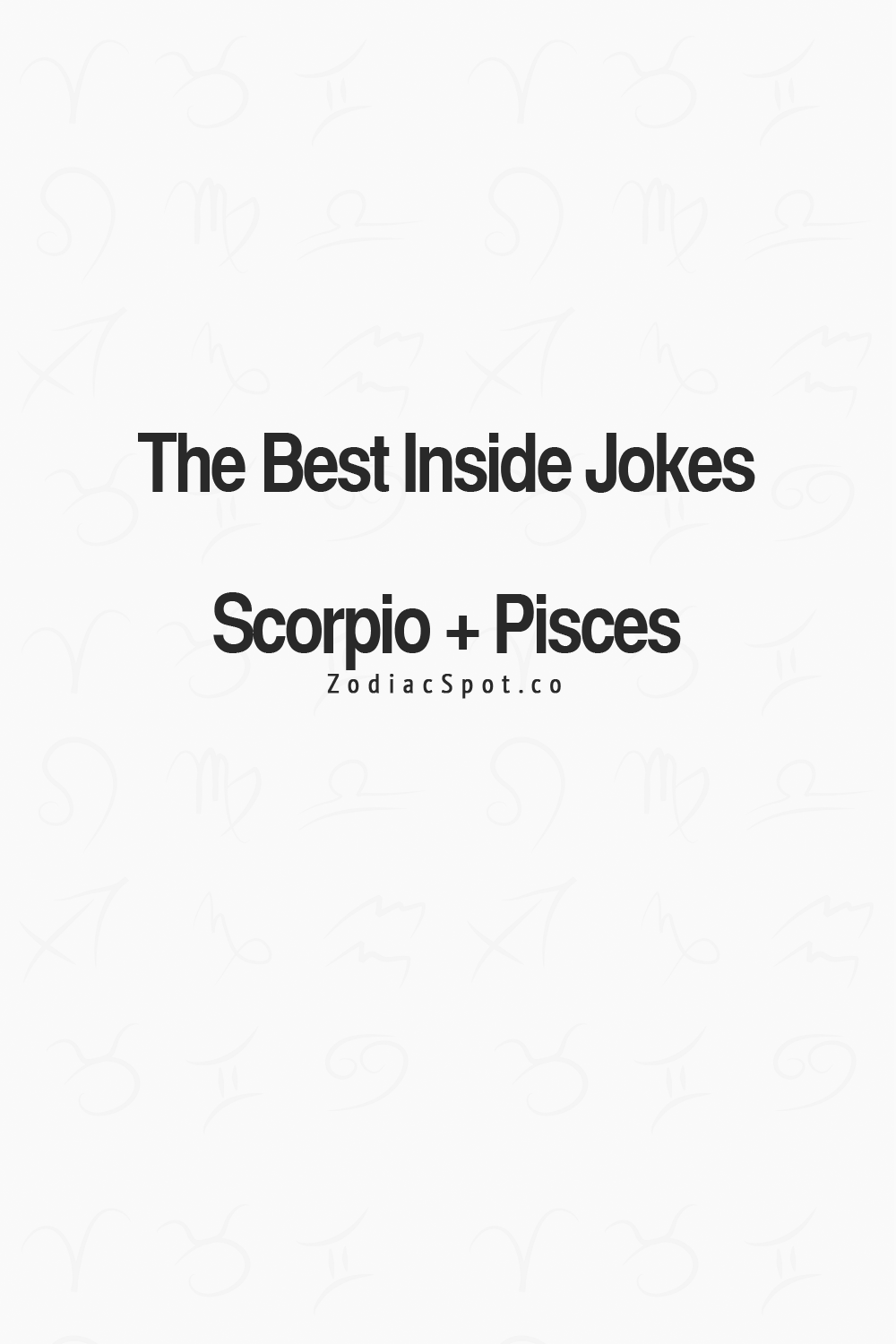 Pisces and scorpio sex join. agree