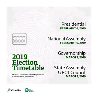 Voters registration ends 60 days to polls-INEC