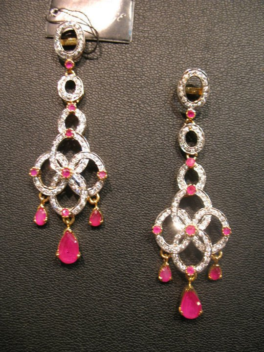 Beautiful elegant stylish Earings Collection december 2012