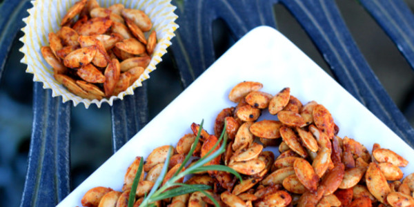 ... spicy, and pumpkin seeds are no exception! These spicy pumpkin seeds