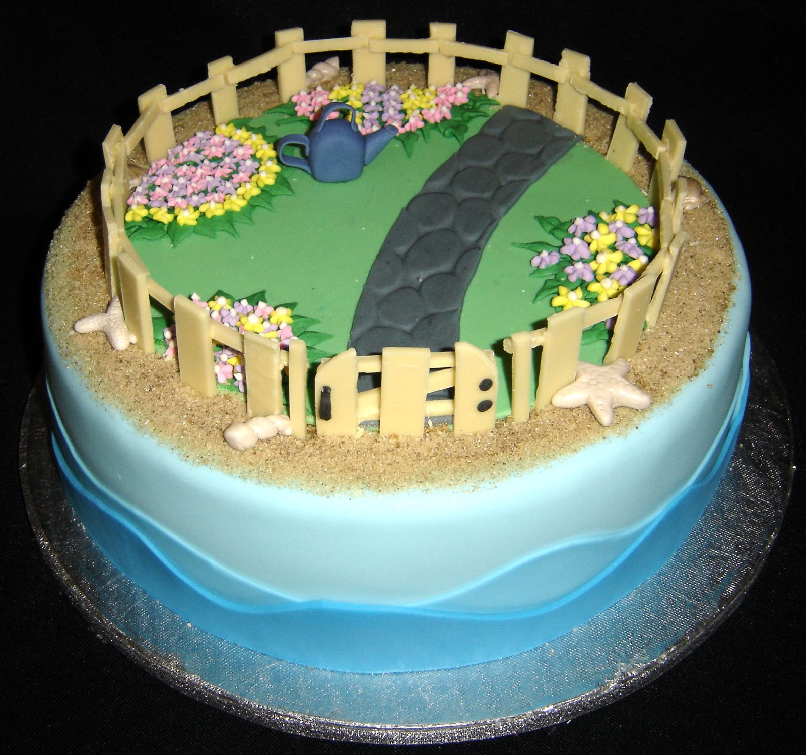 images of cakes with garden theme - photo #46