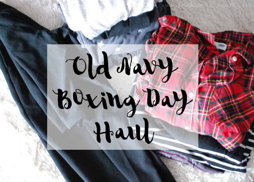 fbloggers, fashion blogger, old navy, haul, boxing day, clothes, shirts, yoga, dress, style, plaid, stripes, fleece