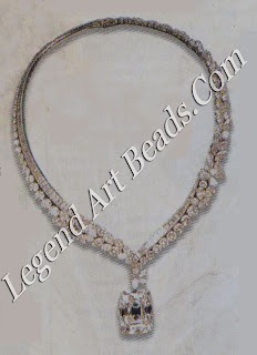 The Archduke Joseph Diamond and necklace