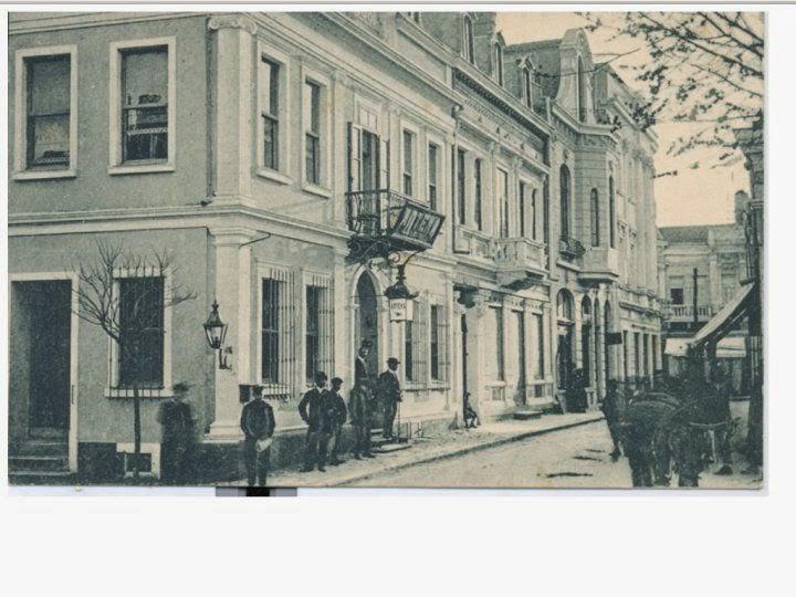 """Стара Снимка на Хотел """"Константинопол"""""""