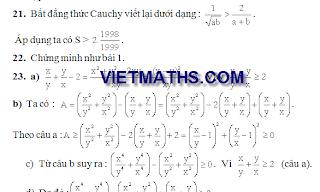 Lời giải 270 bài toán bồi dưỡng HSG Toán 9 , boi duong hoc sinh gioi toan lop 9, de thi