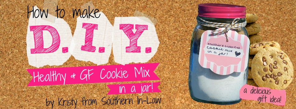 Healthy Cookie Mix in A Jar Recipe - Healthy Gift Ideas for Birthdays and Christmas - Gifts in a Jar on a Budget