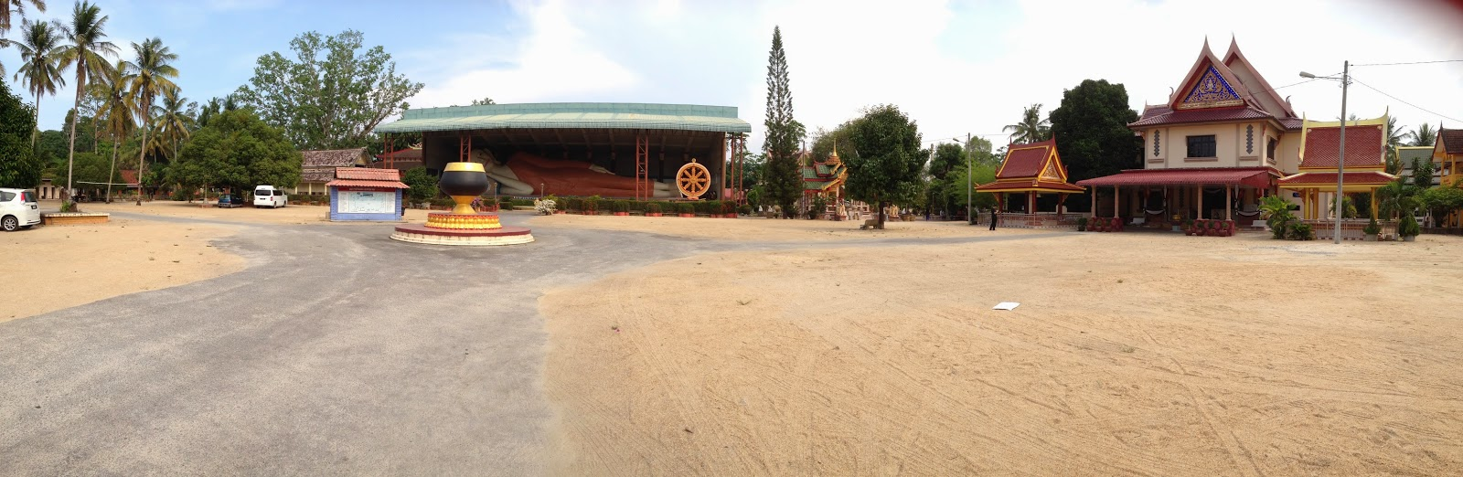 Wat Phothivihan ground