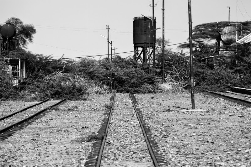 The old train station in Awash/Ethiopia