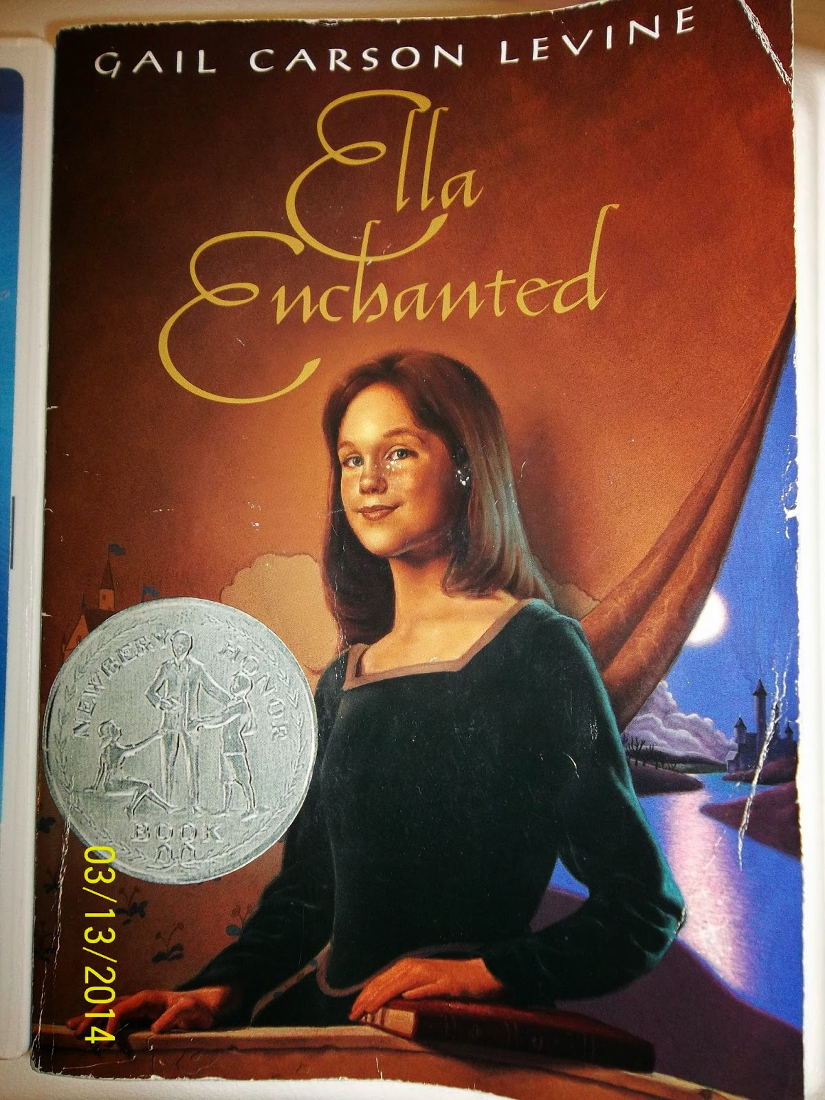 book report on ella enchanted Immediately download the ella enchanted summary, chapter-by-chapter analysis, book notes, essays, quotes, character descriptions, lesson plans, and more - everything you need for studying or.