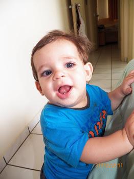 ♥ Lucas com 10 meses