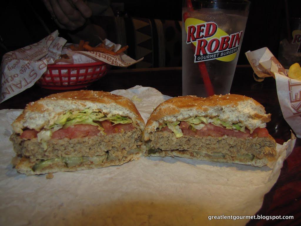 Red Robin Boca Burger Calories