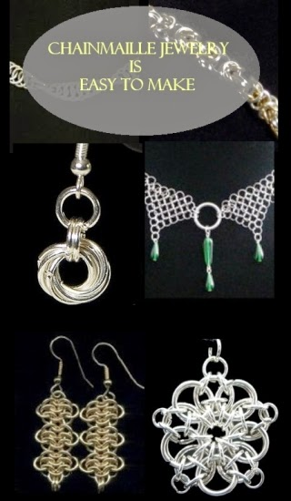 Chainmaille Jewelry is Easy to Make