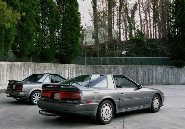 Toyota MR2 W10 & Toyota Supra MK3, japoński sportowy samochód, coupe, RWD