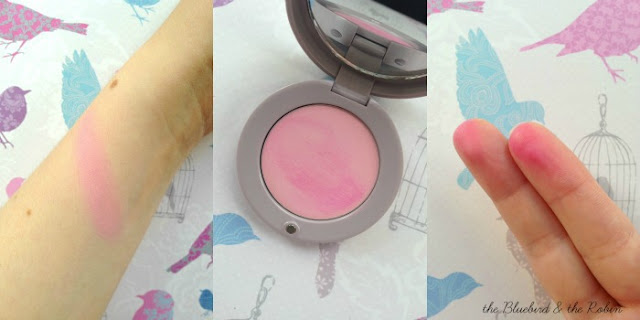 Swatches of Bourjois Blush Exclusif