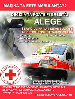 Serviciul de Ambulanta al Crucii Rosii Bacau