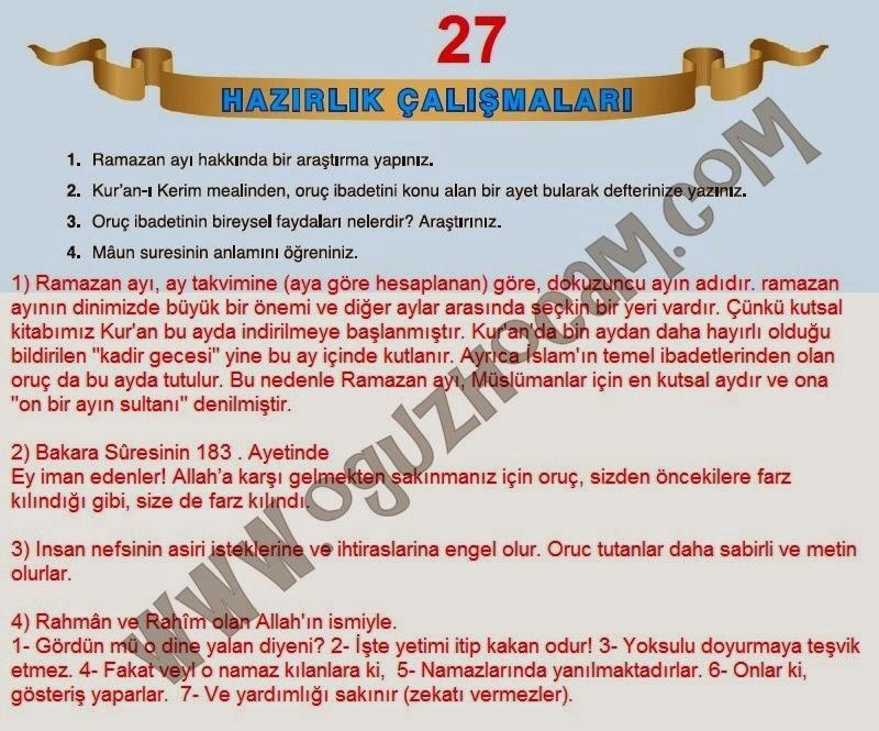 7 Sınıf Din Kültürü Tutku Yayınları Ders Kitabı Cevapları Sayfa 27