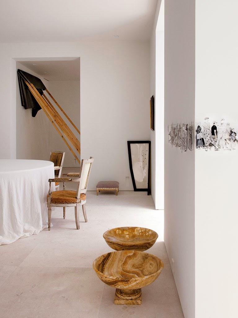 Qu arte tiene la casa madrile a del interiorista luis - As interiorista ...