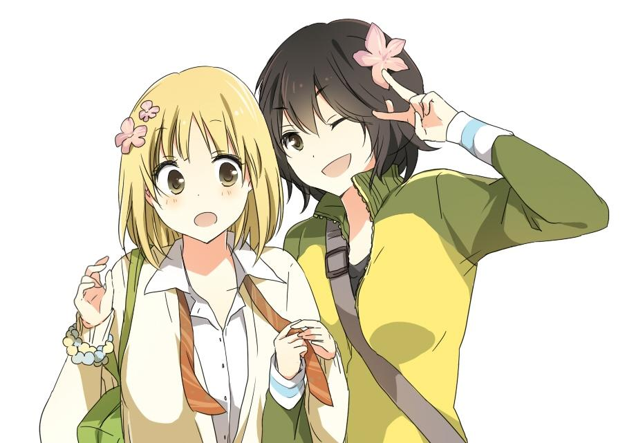 Morning Glory and Kase-san Kase-San+capa+01